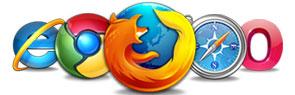 Gestionale prenotazioni compatibile Internet Explorer, Firefox, Safari, Chrome