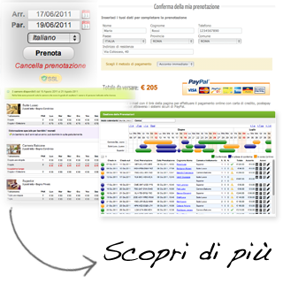 Booking Online Hotel, Software Prenotazioni online, Gestionale Bed and Breakfast, Gestione disponibilit&agrave;